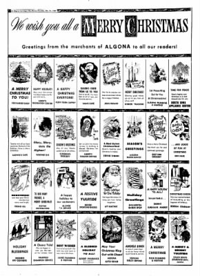 The Algona Upper Des Moines from Algona, Iowa on December 21, 1967 · Page 12