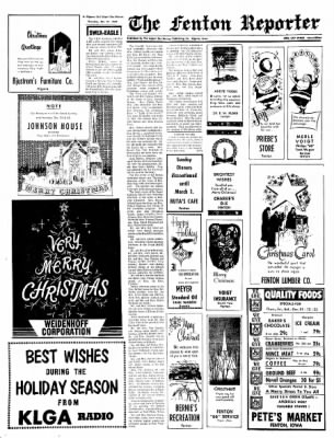 The Algona Upper Des Moines from Algona, Iowa on December 21, 1967 · Page 16