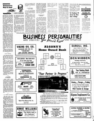The Algona Upper Des Moines from Algona, Iowa on December 28, 1967 · Page 5