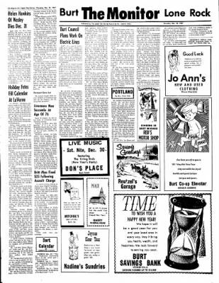 The Algona Upper Des Moines from Algona, Iowa on December 28, 1967 · Page 11