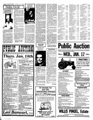 The Algona Upper Des Moines from Algona, Iowa on January 11, 1968 · Page 12