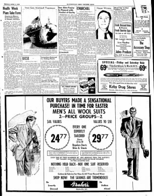 The Courier News from Blytheville, Arkansas on April 1, 1949 · Page 5