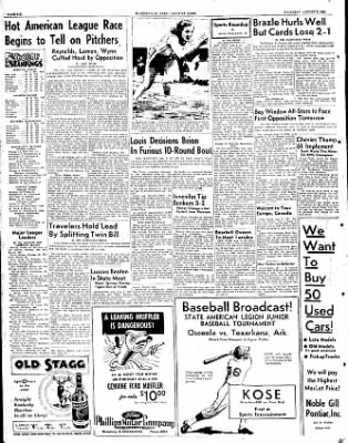 The Courier News from Blytheville, Arkansas on August 2, 1951 · Page 6
