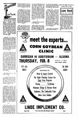 The Algona Upper Des Moines from Algona, Iowa on February 6, 1968 · Page 7