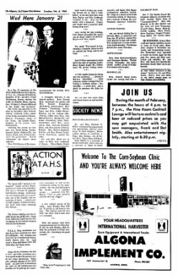 The Algona Upper Des Moines from Algona, Iowa on February 6, 1968 · Page 18