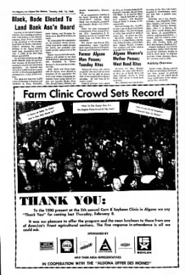 The Algona Upper Des Moines from Algona, Iowa on February 13, 1968 · Page 13