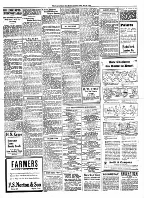 The Algona Upper Des Moines from Algona, Iowa on November 2, 1933 · Page 9