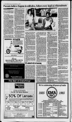 The Des Moines Register from Des Moines, Iowa on August 11, 1985 · Page 20