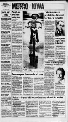 The Des Moines Register from Des Moines, Iowa on August 15, 1985 · Page 15