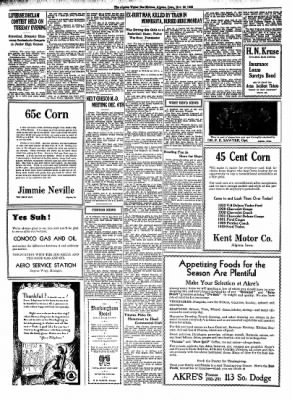 The Algona Upper Des Moines from Algona, Iowa on November 30, 1933 · Page 6