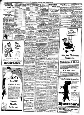 The Algona Upper Des Moines from Algona, Iowa on December 25, 1933 · Page 10