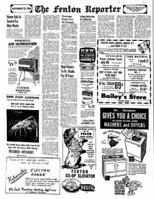 The Algona Upper Des Moines from Algona, Iowa on November 19, 1964 · Page 6