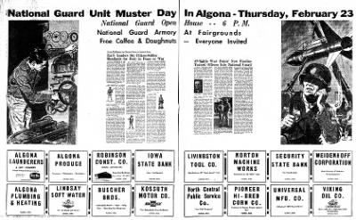 The Algona Upper Des Moines from Algona, Iowa on February 16, 1961 · Page 17