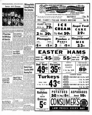 The Algona Upper Des Moines from Algona, Iowa on March 30, 1961 · Page 6