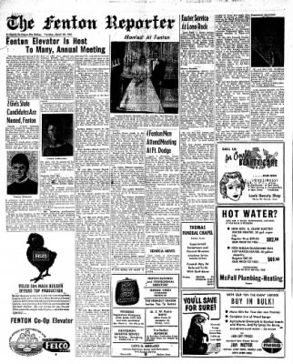 The Algona Upper Des Moines from Algona, Iowa on March 30, 1961 · Page 10