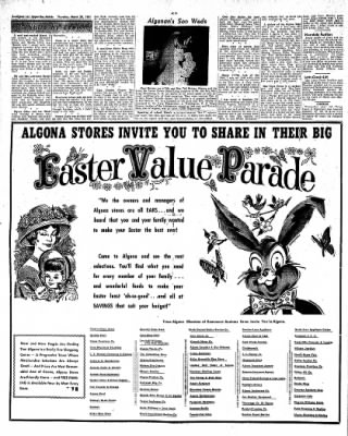 The Algona Upper Des Moines from Algona, Iowa on March 30, 1961 · Page 16