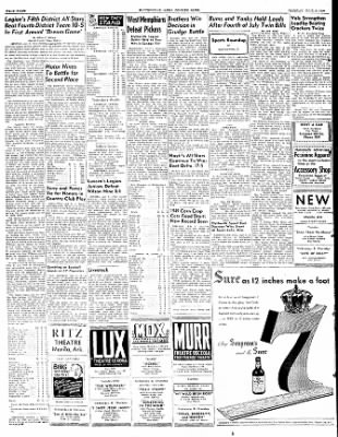 The Courier News from Blytheville, Arkansas on July 5, 1949 · Page 8