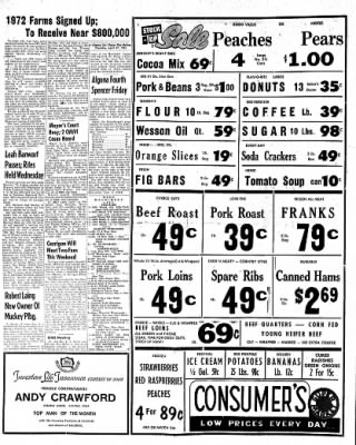The Algona Upper Des Moines from Algona, Iowa on April 27, 1961 · Page 6