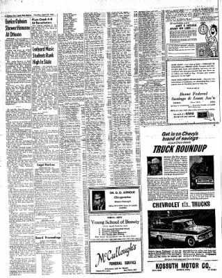 The Algona Upper Des Moines from Algona, Iowa on April 27, 1961 · Page 18