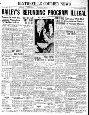 The Courier News from Blytheville, Arkansas on July 10, 1939 · Page 1
