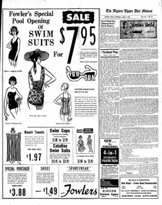 The Algona Upper Des Moines from Algona, Iowa on June 8, 1961 · Page 9