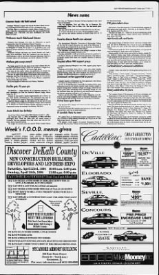 The Daily Chronicle from De Kalb, Illinois on April 17, 1994 · Page 7
