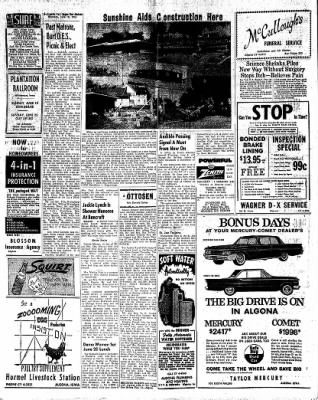 The Algona Upper Des Moines from Algona, Iowa on June 15, 1961 · Page 12