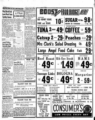The Algona Upper Des Moines from Algona, Iowa on June 22, 1961 · Page 5