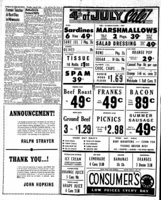 The Algona Upper Des Moines from Algona, Iowa on June 29, 1961 · Page 6