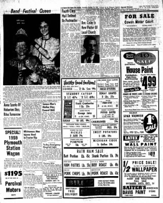 The Algona Upper Des Moines from Algona, Iowa on October 12, 1961 · Page 6