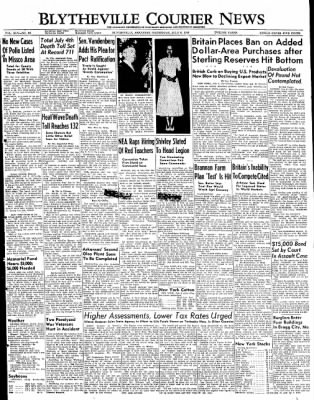 The Courier News from Blytheville, Arkansas on July 6, 1949 · Page 1