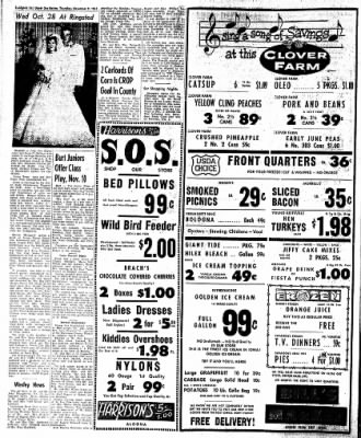 The Algona Upper Des Moines from Algona, Iowa on November 9, 1961 · Page 8