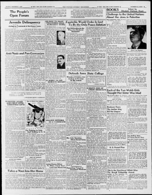 The Des Moines Register from Des Moines, Iowa on November 7, 1943 · Page 47