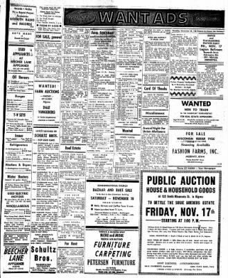 The Algona Upper Des Moines from Algona, Iowa on November 16, 1961 · Page 7