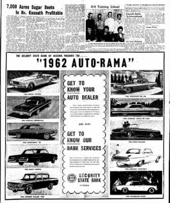 The Algona Upper Des Moines from Algona, Iowa on November 16, 1961 · Page 11