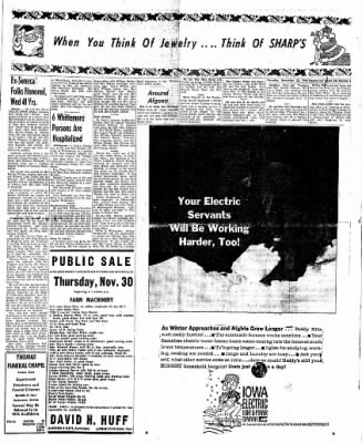 The Algona Upper Des Moines from Algona, Iowa on November 23, 1961 · Page 13