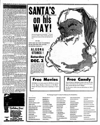 The Algona Upper Des Moines from Algona, Iowa on November 30, 1961 · Page 19