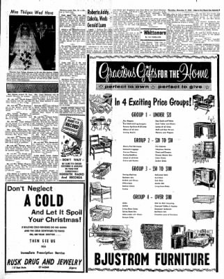 The Algona Upper Des Moines from Algona, Iowa on December 7, 1961 · Page 17