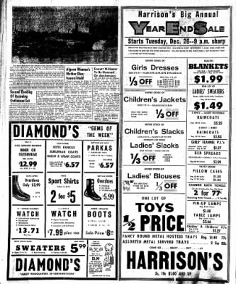 The Algona Upper Des Moines from Algona, Iowa on December 21, 1961 · Page 6