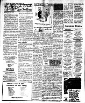 The Algona Upper Des Moines from Algona, Iowa on January 16, 1962 · Page 14