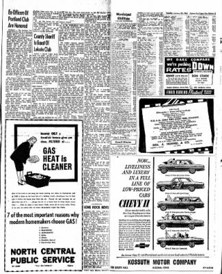 The Algona Upper Des Moines from Algona, Iowa on January 23, 1962 · Page 12