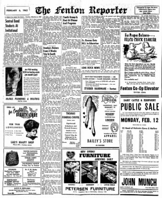 The Algona Upper Des Moines from Algona, Iowa on February 6, 1962 · Page 4