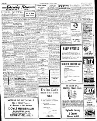 The Courier News from Blytheville, Arkansas on April 2, 1949 · Page 2