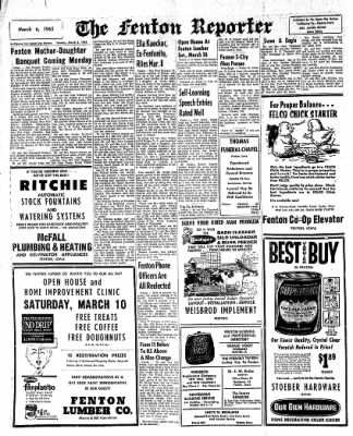 The Algona Upper Des Moines from Algona, Iowa on March 6, 1962 · Page 4