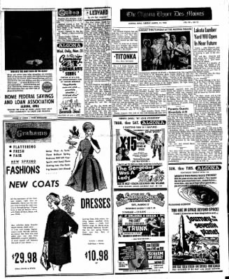The Algona Upper Des Moines from Algona, Iowa on March 13, 1962 · Page 12