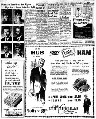 The Algona Upper Des Moines from Algona, Iowa on March 27, 1962 · Page 5