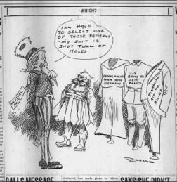WWI political cartoon