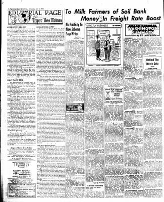 The Algona Upper Des Moines from Algona, Iowa on January 3, 1957 · Page 14