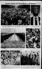 Photos from the March on Washington, 1963