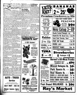 The Algona Upper Des Moines from Algona, Iowa on February 7, 1957 · Page 8